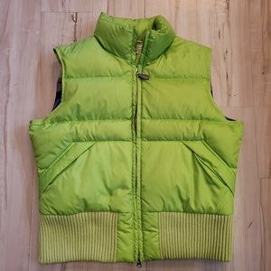 Jackets & Blazers - Tommy Hilfiger Big Girls Womens Green Puffer Vests